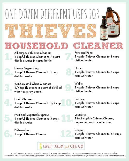 Essential Oil Stain Remover Doterra