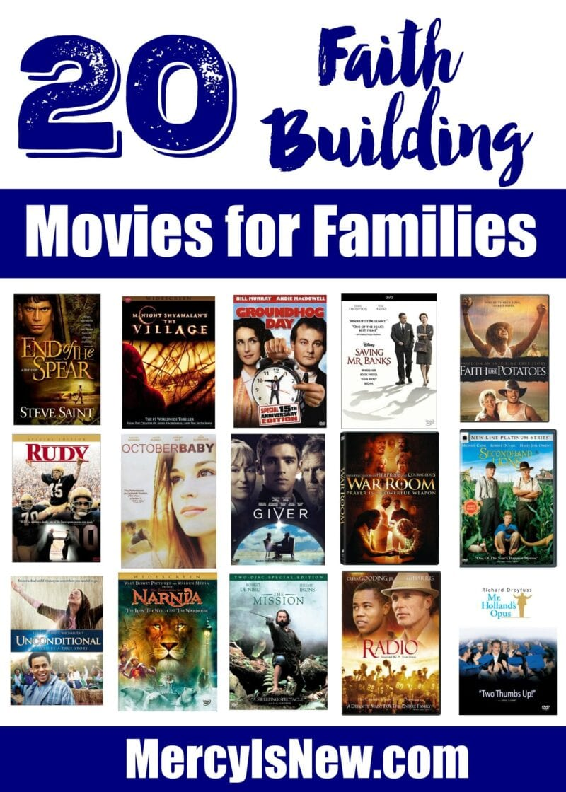 20 Faith Building Movies for Families