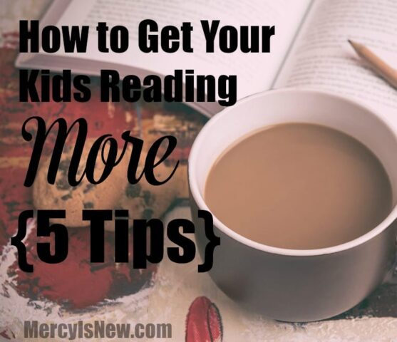 5 Tips for Getting Your Kids to Read More