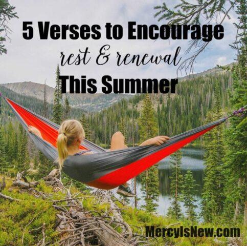 5 Verses To Encourage Rest