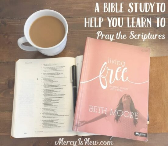 A Bible Study to Help You Learn to Pray Scriptures