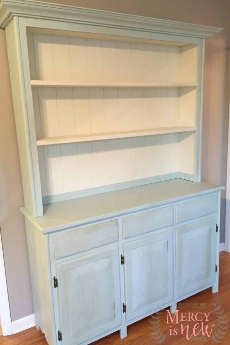 Chalk Paint Hutch 1