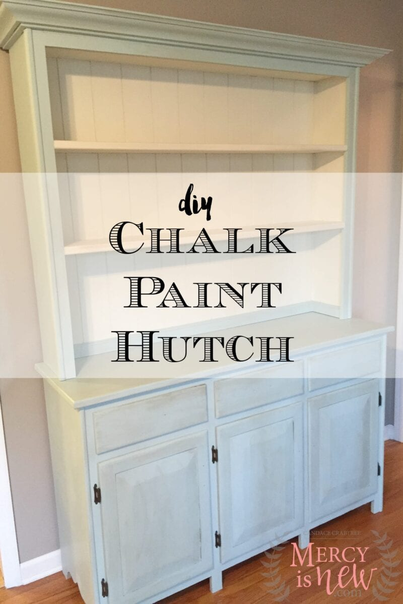 Chalk Paint Hutch 2