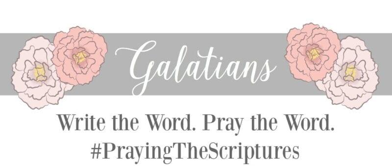 Write the Word: Galatians