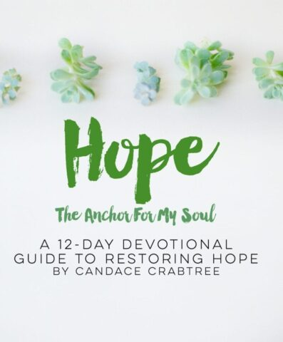 Hope The Anchor For My Soul Free Devotional