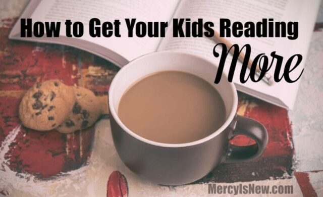 How to get your kids reading more