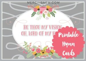Hymn Card Graphic