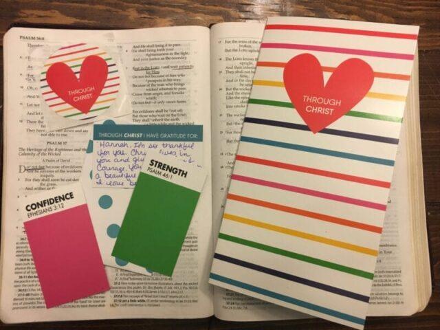 Through Christ Bible Journaling Kit