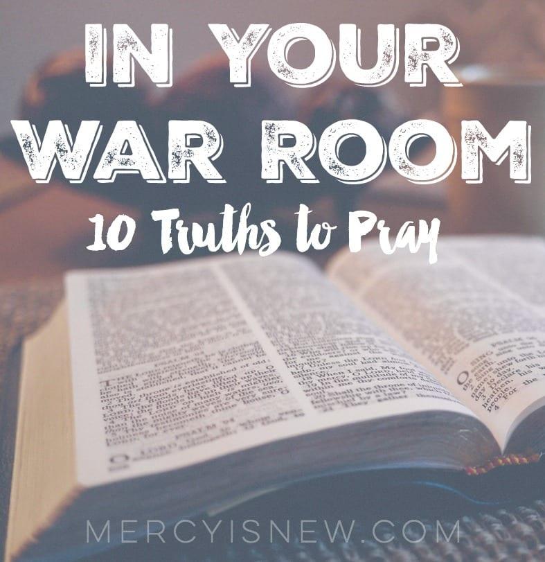 In Your War Room