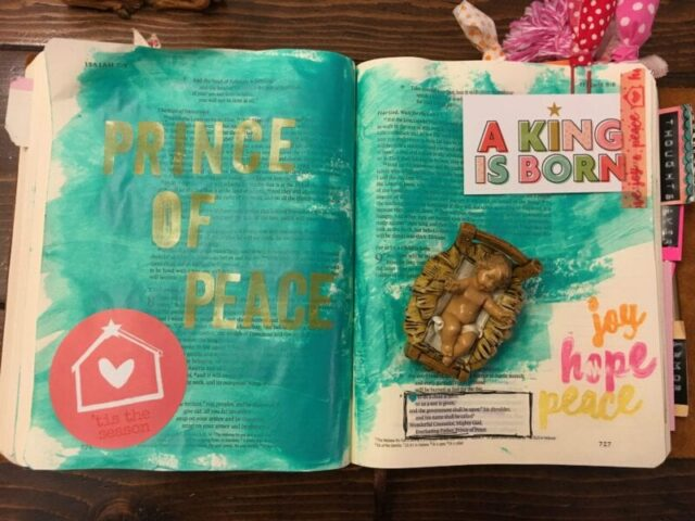 prince-of-peace-bible-journaling
