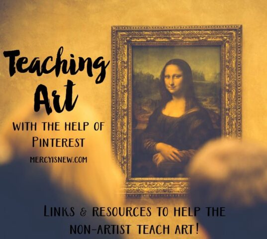 Teaching Art with the Help of Pinterest