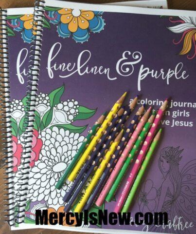 Teen Coloring Devotional Book 1