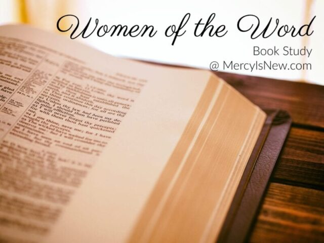 Let's Be Women of the Word Together