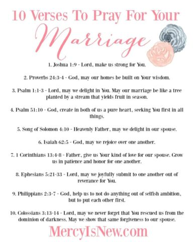 10 Verses to Pray for Your Marriage CORRECTED