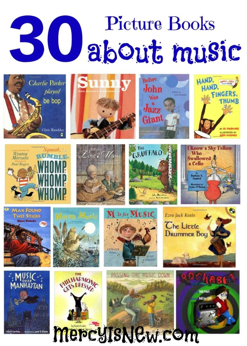 30 Picture Books About Music
