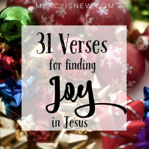31 Verses for FindingJoy in Jesus