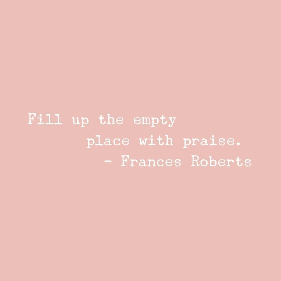 Fill the empty places…