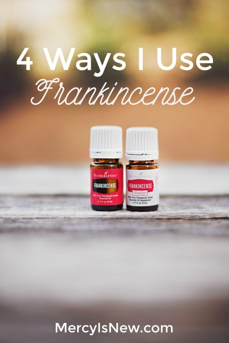 4 Ways I Use Frankincense Daily
