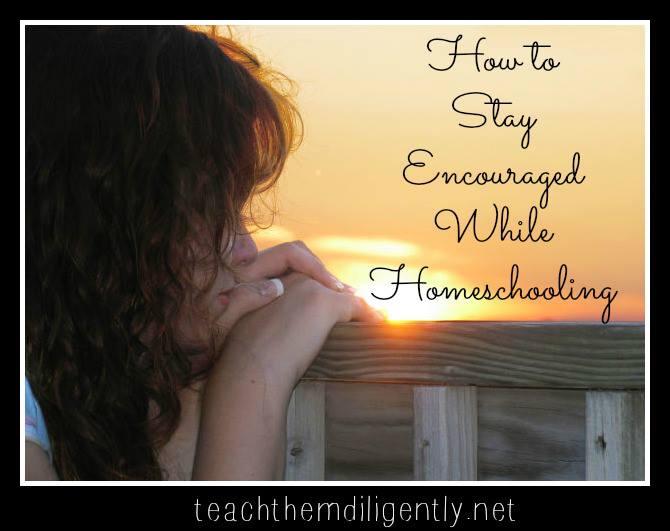 Homeschooling: Staying Encouraged