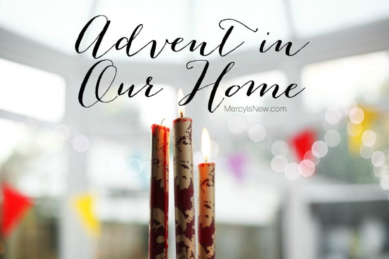 Advent in our Home