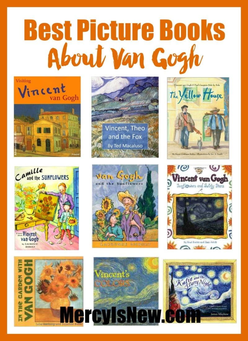 Best Van Gogh Picture Books {Give Away}