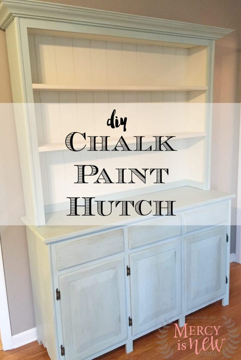 Chalk Paint Hutch 2