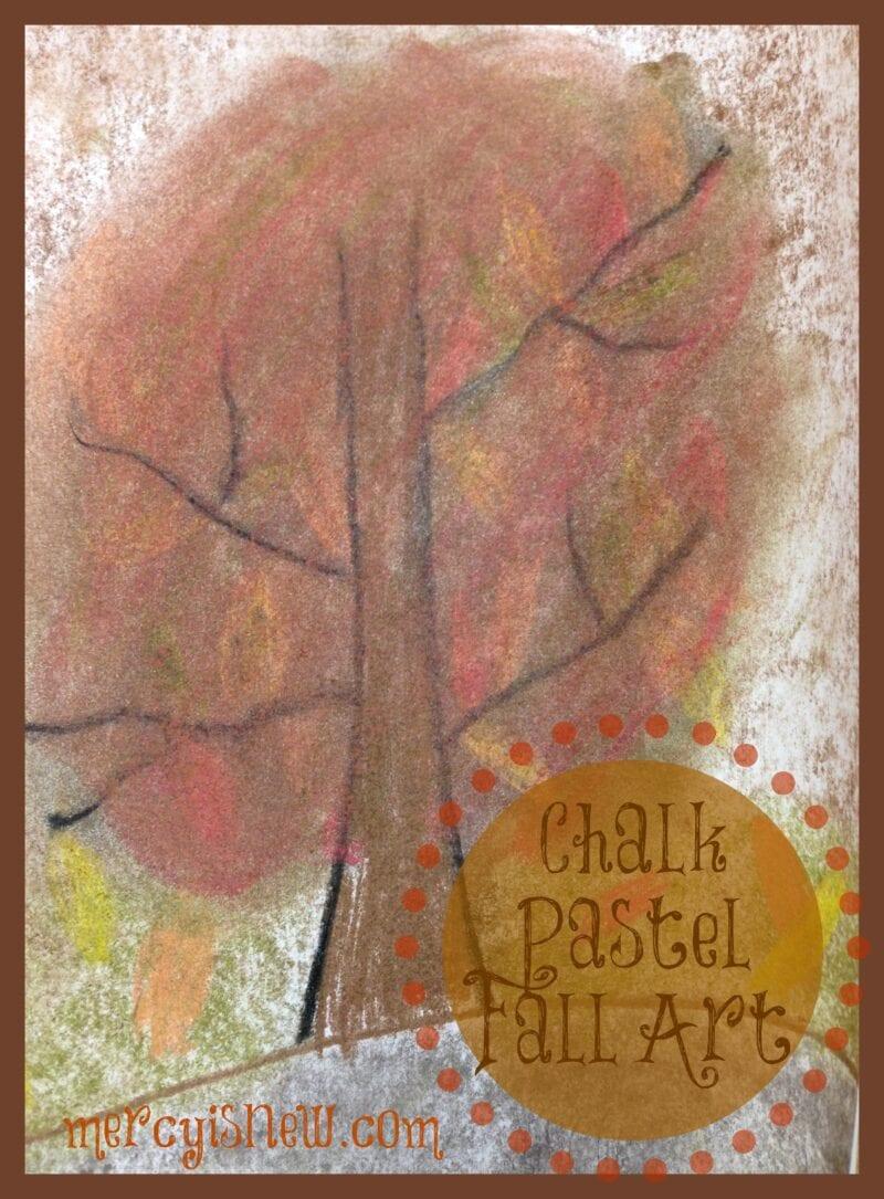 Fall Chalk Pastel Art Projects