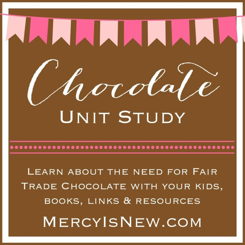 Chocolate Unit Study {and fair trade chocolate}