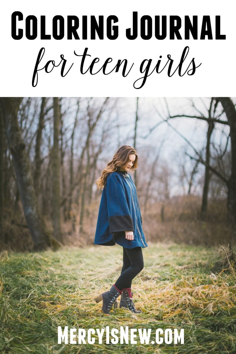 Coloring Journal for Teen Girls 3