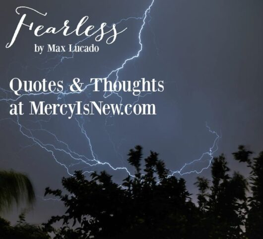 Fearless by Max Lucado