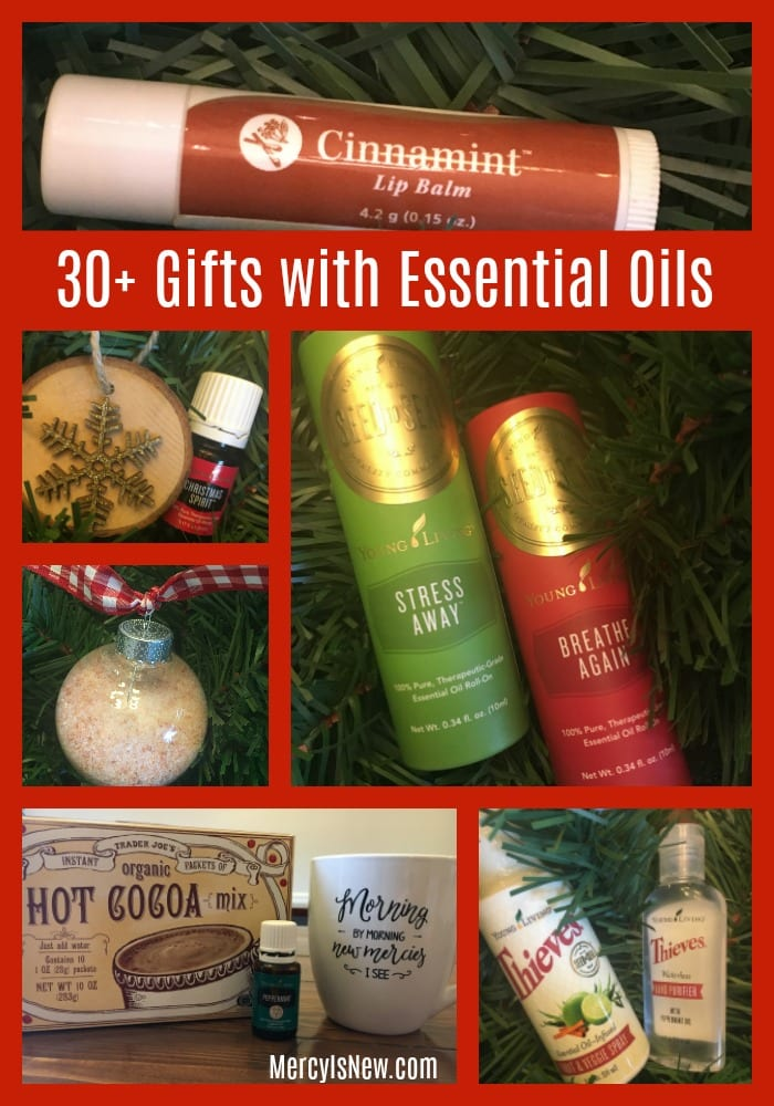 30+ Gift Ideas with Essential Oils