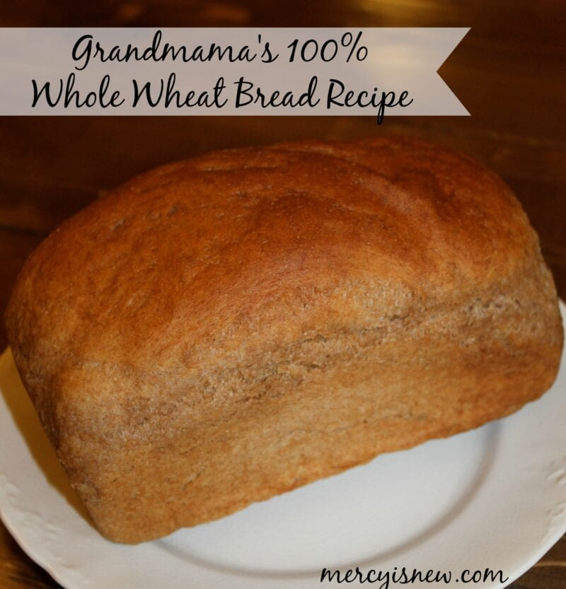 Grandmama's Bread Recipe