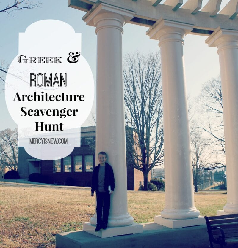 Scavenger Hunt for Greek & Roman Architecture!