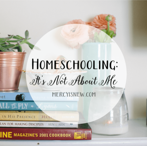 Homeschooling It's Not About Me