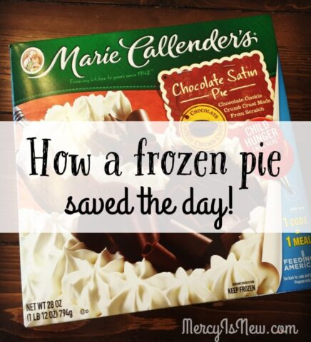 How a Frozen Pie Saved the Day