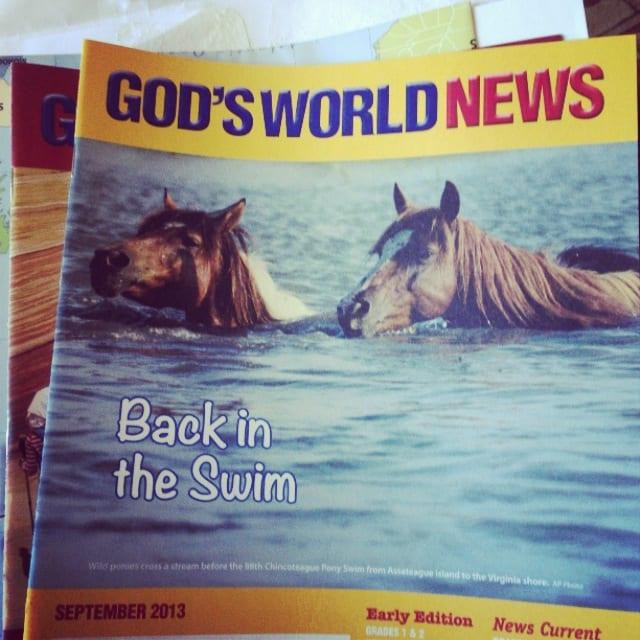 God's World News {magazine review}