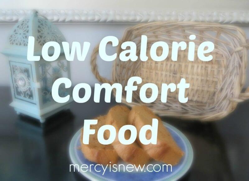 low calorie comfort food