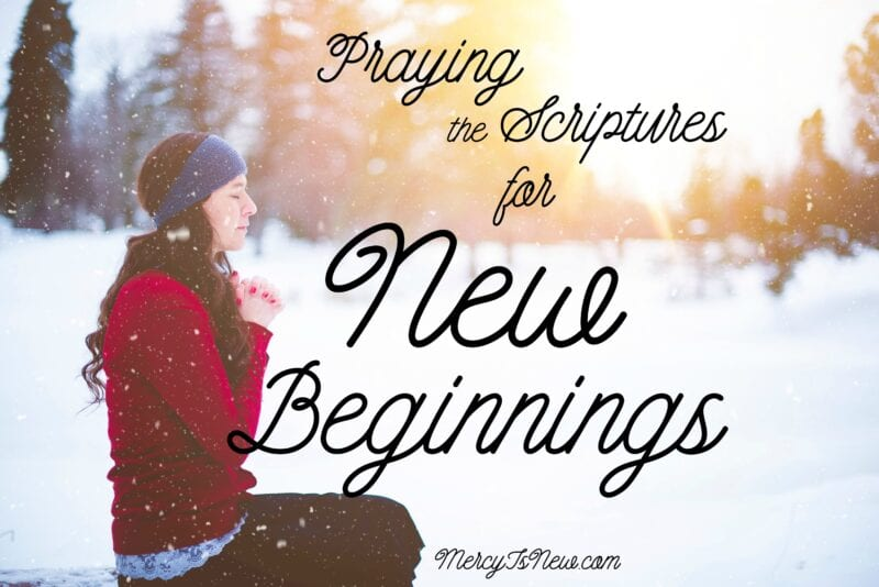 19 Verses for New Beginnings