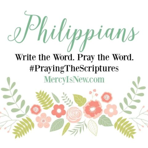 Philippians Write the Word Square