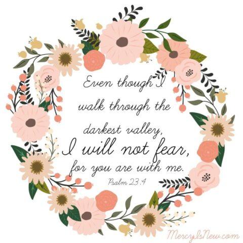 Psalm 23 four