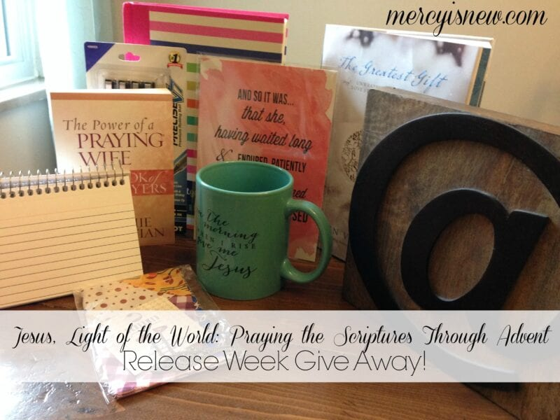 Introducing: Jesus, Light of the World: Praying the Scriptures Through Advent