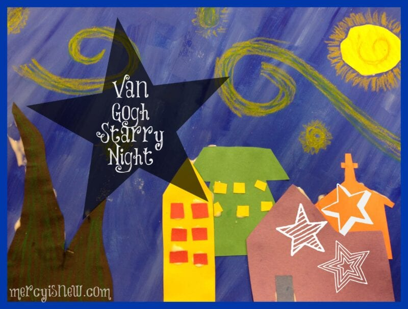 starry night art projects