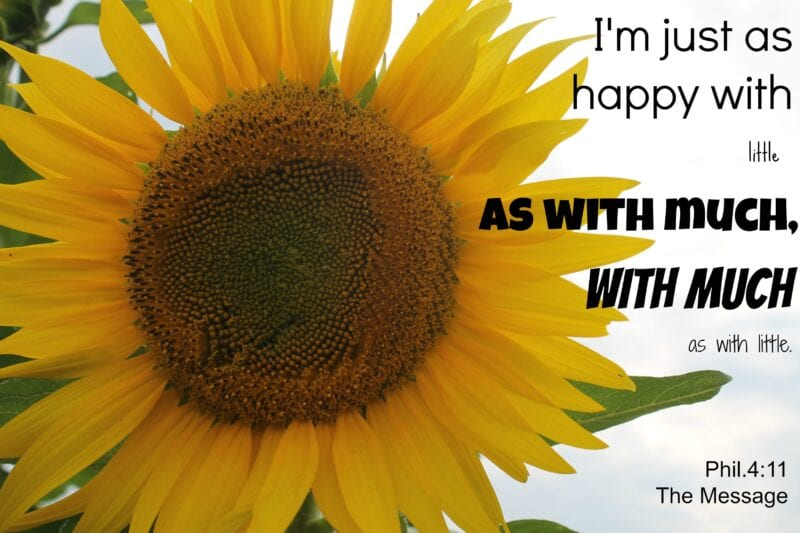 Happy November! {Contentment & Thankfulness}