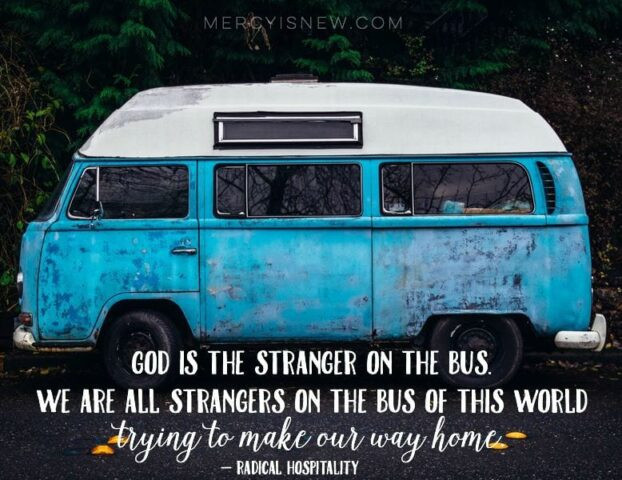 god is the stranger